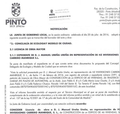 aprobada la licencia de obras para la primera fase de