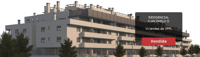 Residencial Juan Pablo II en l Tenería, Pinto. Venta de viviendas de  protección pública de precio limitado