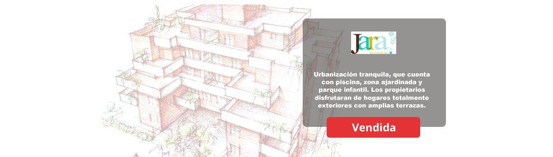 Residencial Jara en la Tenería Pinto. Comprar pisos nuevos en Pinto