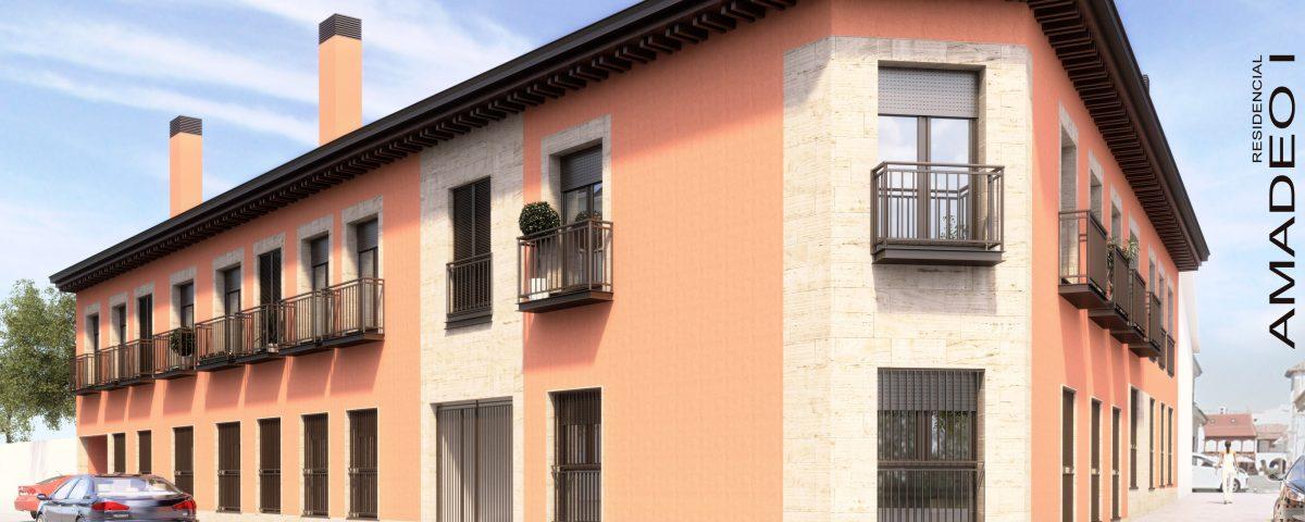residencial amadeo I en el centro de pinto