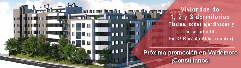 promoción de pisos de nueva construcción Valdemoro
